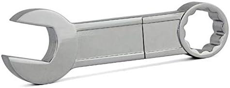 Metal Pendrive Mini Spanner Wrench USB Flash Drive Memory Card Pen Drive USB2.0 Creative USB Stick 1G 2G 4G 8G 16G 32GB Sala-Deco