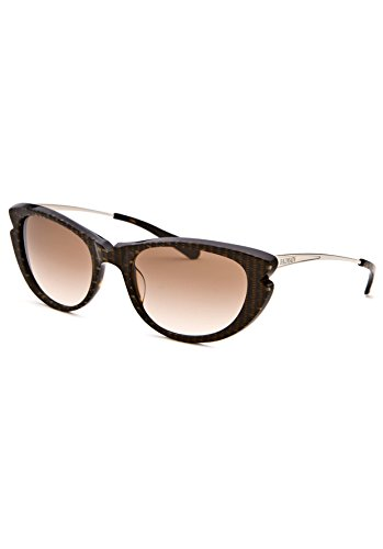 Balmain 2023 Sunglasses - Frame BROWN, Lens Color Gradient - For Women Balmain