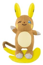 "Pokemon Sun & Moon Alolan Raichu 5"" Mini Plush Toy [Banpr..."