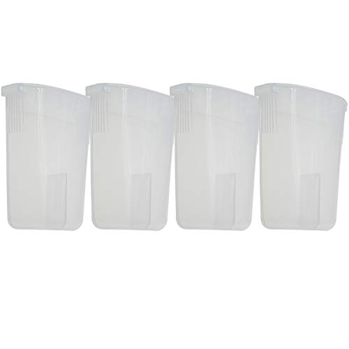 Parts Duo - 4 Packs Condensation Collector Cup Replacement for Instant Pot 5, 6, 8 Quart All Series DUO, ULTRA, LUX