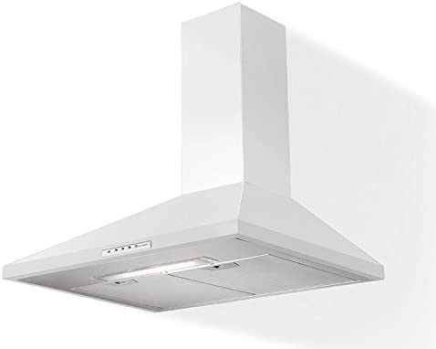 FABER S.p.A. Value W A60 De pared Blanco 430m³/h - Campana (430 m³/h, Canalizado, 53 dB, 61 dB, 67 dB, De pared): Amazon.es: Grandes electrodomésticos