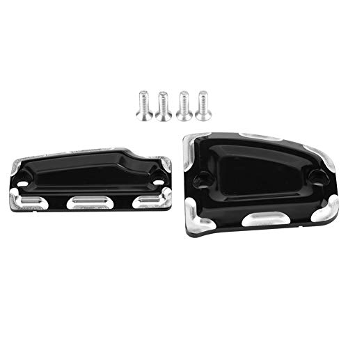 Motorcycle Cylinder Cover, Motorcycle Front&Rear Billet Master Cylinder Covers for Indian Scout 2015-2018 Billet Master Cylinder Cover