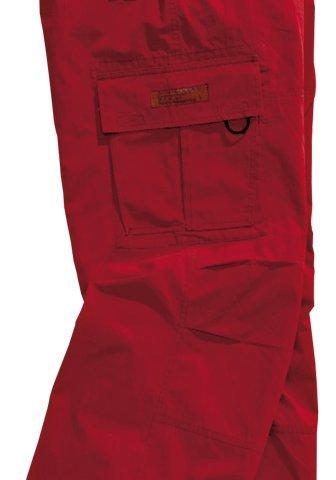 Outdoor Cargohose Trekkinghose Freizeithose Rot Gr 98