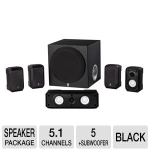 Yamaha 5 1 Channel Surround Sound Multimedia Home Theater