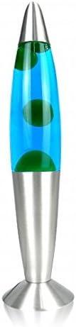 E14 25W verde azul Timmy incluyendo l/ámparas interruptor de cable L/ámpara de lava 35cm Magmaleuchte retro regalo idea navidad cumplea/ños