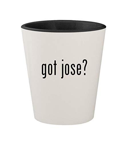 got jose? - Ceramic White Outer & Black Inner 1.5oz Shot Glass ()