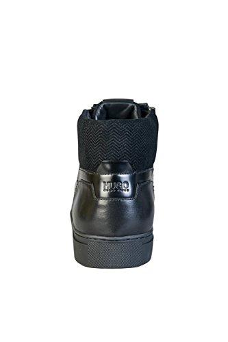 Hugo Futurisme Milieu Des Hommes Chaussures Noir Noir