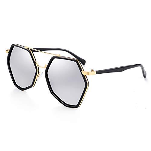 de Soleil D personnalité Femme soleil à de Lunettes lunettes de Des Couleur B Mirror Sport Driving Tendance polarisée qg4Yf