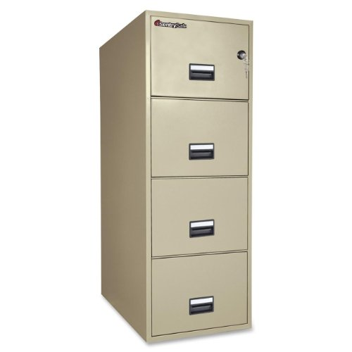 Sentry Vertical File Cabinet - 3