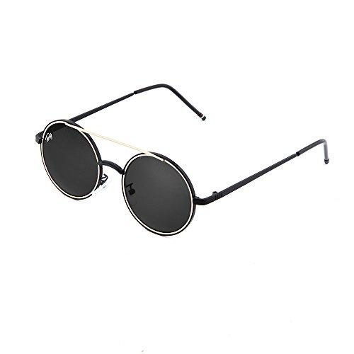 TWIG hombre espejo GIOTTO sol Gafas redondo de Multicolor mujer pxqZYZwE7F