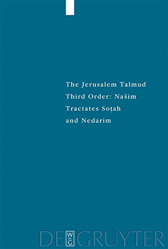 The Jerusalem Talmud (Studia Judaica) (v. 2) PDF