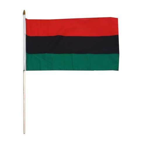 Online Stores WAA1218HF African American Flag 12 x 18 inch, 1 Pack, Red, Black, Green