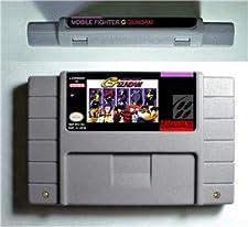Mobile Suit Gundam W Endless Duel - Action Game Cartridge US Version - Game Card For Sega Mega Drive For Genesis