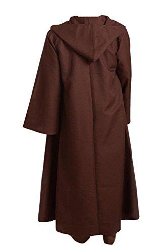 Padme Halloween Costumes (Allten Men's Halloween Brown Cloak XXL)