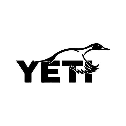 CarTats Duck Vinyl Decal Mallard Teal Compatible with Yeti Hunting Hunter Window Laptop Bumper Sticker Door Toolbox Choose Size and Color (5x2, White)