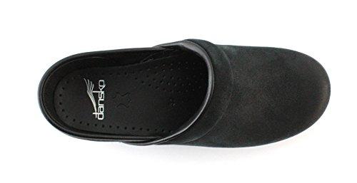 Dansko Zoccolo Professional Burnished Suede Black Taglia 41 - Colore Nero