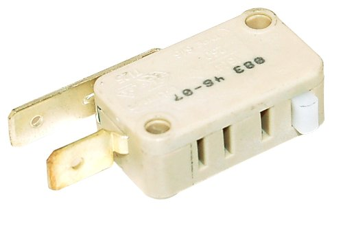 Aeg Bendix Corbero Electrolux Firenzi Ikea John Lewis Tricity Bendix Zanussi Dishwasher Door Microswitch. Genuine part number 50287927003 New Genuine 50287927003