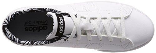 000 ftwbla Para Cl W Advantage negbas Mujer Adidas Blanco Zapatillas Qt ftwbla zXP7qw