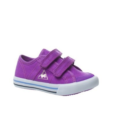 Le Coq Sportif - Zapatillas de nordic walking de Lona para niña VINTAGE PURPLE
