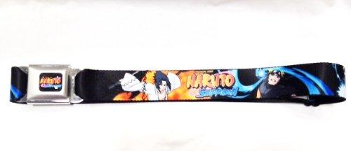 Naruto Seatbelt Belt (for your pants) – Naruto , Kakashi, Sasuke