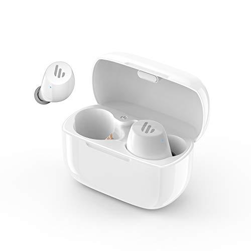 Edifier TWS1 Earbuds True Wireless - حداکثر 32 ساعت عمر باتری با حالت شارژ و میکروفون ، بلوتوث v5.0 aptX ، IPX5 چلپ چلوپ