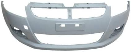 Front Bumper Primed Compatible With Swift 2011-2013 Trade Vehicle Parts SZ1130