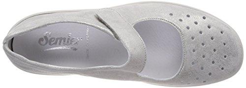 De Mujer Cordones Zapatos Brogue grigio Para Gris Semler 017 Xenia qYwnv4YU