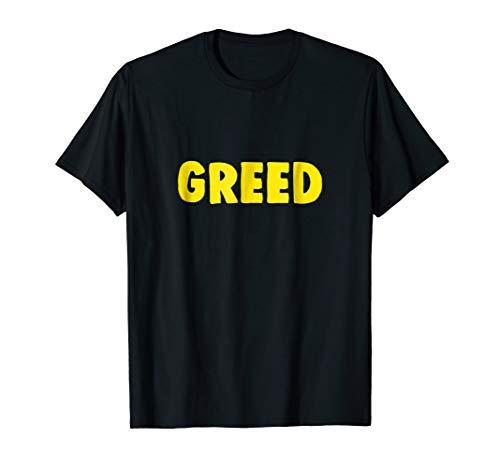 Christian Halloween Shirt Seven Deadly Sins Greed -