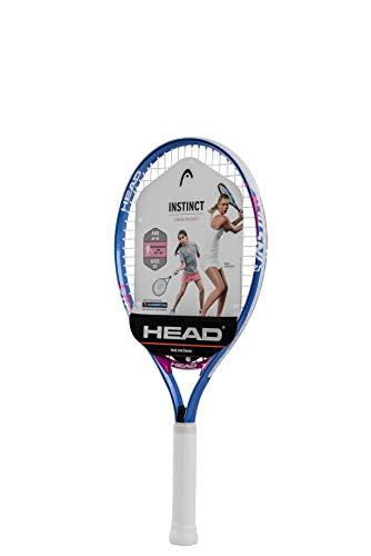 HEAD Instinct Kids Tennis Racquet - Beginners Pre-Strung Head Light Balance Jr Racket - 21