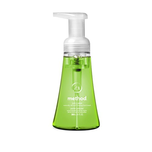 Method Foaming Hand Soap, Juicy Pear, 10 Ounce (Pack Of ()