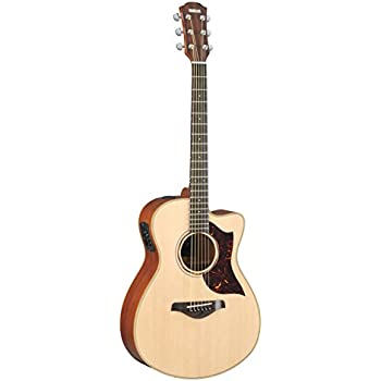 Yamaha A-Series AC3M  Small Body Acoustic-Electric Guitar with Case, Natural