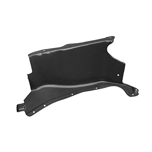 CPP Replacement Engine Splash Shield VW1228125 for 1998-2007 Volkswagen Beetle ()