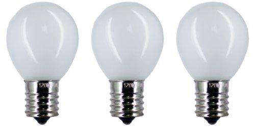 CEC Industries #40S-11 N IF 120V (Frosted) Bulbs, 120 V, 40 W, E17 Base, S-11 shape (Intermediate Screw E17 Base Miniature)