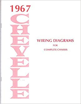 complete 1967 chevrolet chevelle el camino factory set of ... 1967 chevrolet chevelle wiring diagram  amazon.com
