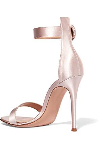 elashe - Correa para el tobillo Mujer Pink-Satin