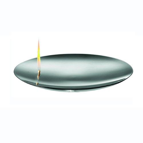 Mono Concave Fire Bowl Oil Lamp, Large 10.5