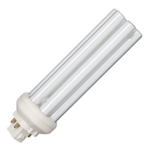 Philips 149013 42W 4 Pin GX24q4 Warm White Triple Tube CFL Bulb (Cfl Triple Tube)