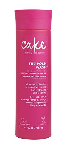 - Cake Beauty Posh Wash Sulfate-free Swirl Shampoo, 10 Ounce
