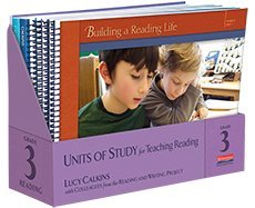 Units of Study for Teaching Reading - Grade 3 (Lucy Calkins Units Of Study Grade 3)