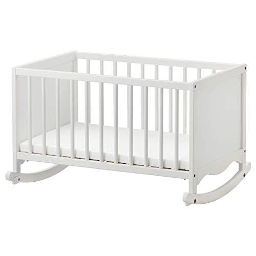 IKEA Solgul Cradle with Sleeping pad White 26×33 1/8 903.624.26