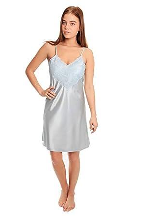 Short Satin Nightgown