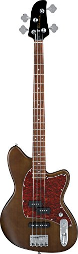 Ibanez TMB 4 String Bass Guitar, Right, Walnut Flat (TMB100WNF)