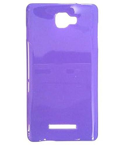check out 0e232 88b0c Purple Glossy Premium Back Cover For Panasonic P81: Amazon.in ...