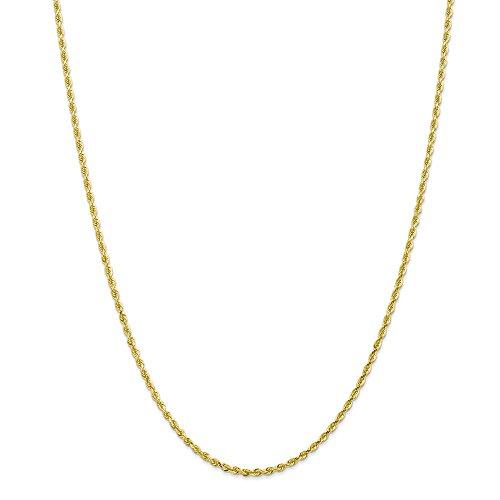 Jewelry Best Seller 10k 2.25mm D/C Quadruple Rope Chain