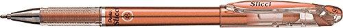 - Pentel Slicci Metallic Gel Pen Bronze (BG208-ME)