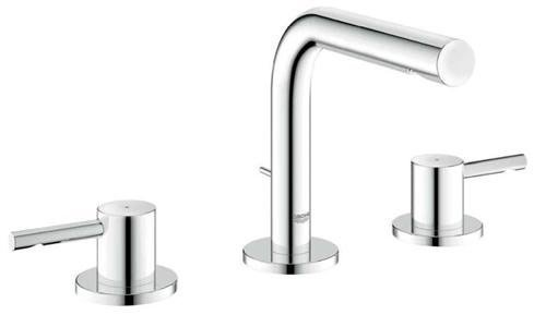 Kohler Elmbrook 8 In Widespread 2 Handle Bathroom Faucet: Essence 8 In. Widespread 2-Handle Low-Arc Bathroom Faucet