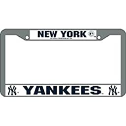 MLB Yankees License Plate Frame