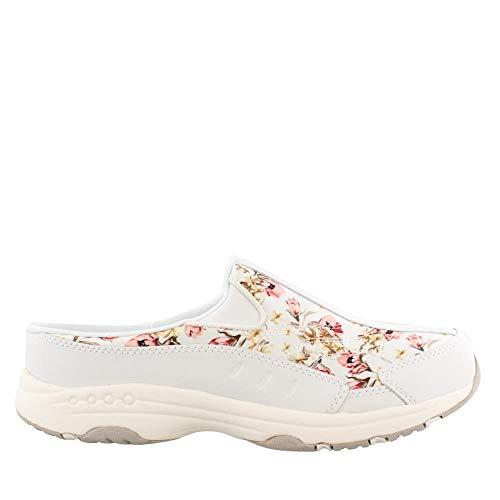 Easy Spirit Women's Traveltime Floral Satin 7.5 W US - Ladies Satin Shoes