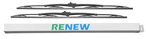(30 Inch Wiper Blade Pair for RV or Motorhome with large 12mm J Hook (2))