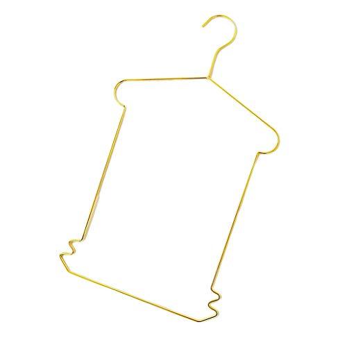 MOPOLIS Rectangle Clothes Hanger Iron Coat Skirt Trouser Dress Swimming Pants Hanger (Color - ()
